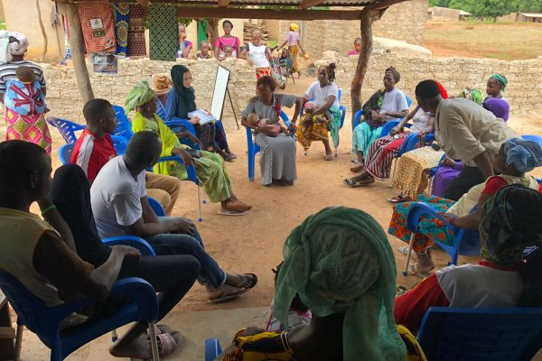 Healthcare worker teaching programme